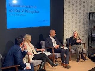 Marian Salzman Communication Panel Davos