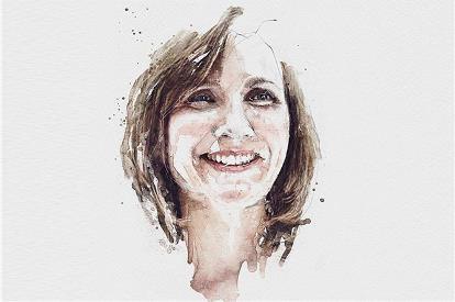 moira Gilchrist profile sketch