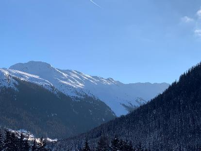 Mountains Davos WEF 2019