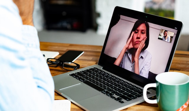 Mental health video call thumbnail